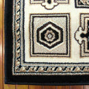 Mystique Traditional 7647 Black Rug, [cheapest rugs online], [au rugs], [rugs australia]