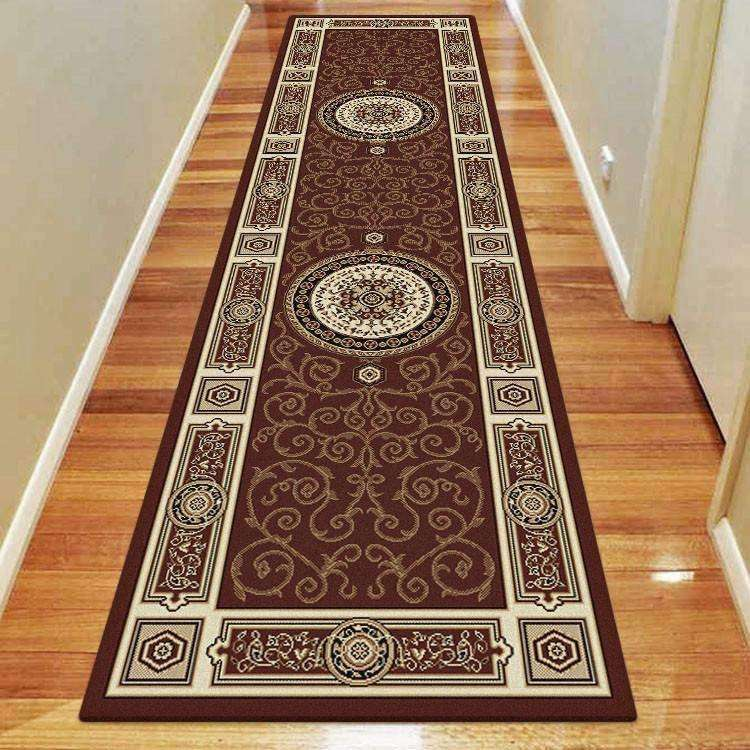 Mystique Traditional 7647 Brown Rug, [cheapest rugs online], [au rugs], [rugs australia]