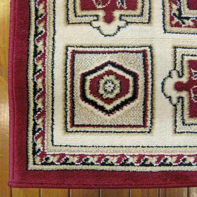 Mystique Traditional 7647 Red Rug, [cheapest rugs online], [au rugs], [rugs australia]