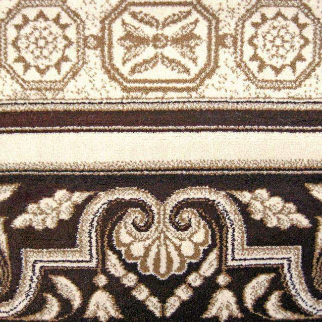 Mystique Traditional 7652 Brown Rug, [cheapest rugs online], [au rugs], [rugs australia]