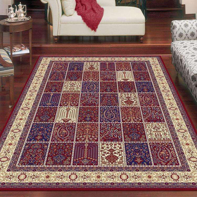Mystique Traditional 7654 Red Rug, [cheapest rugs online], [au rugs], [rugs australia]