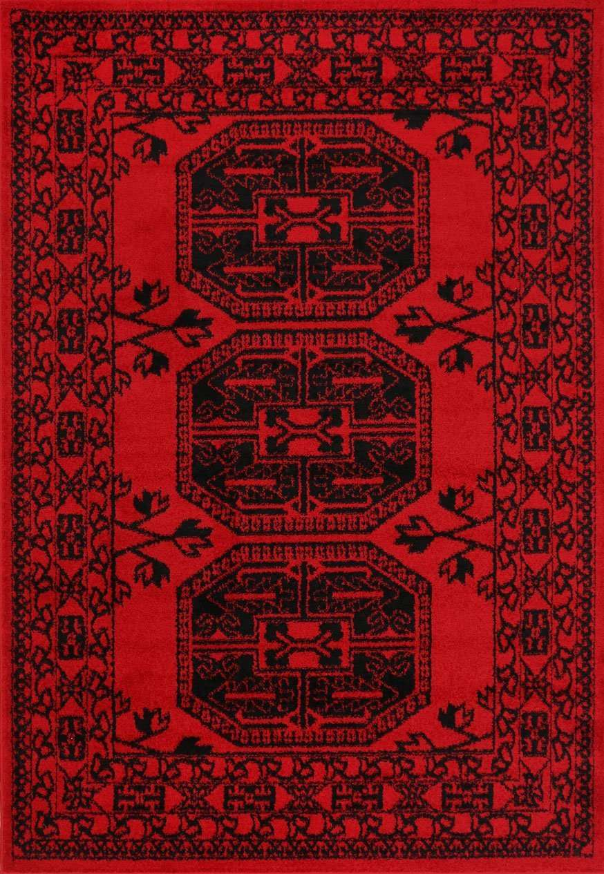 Nadia Red Afghan Traditional Rug, [cheapest rugs online], [au rugs], [rugs australia]