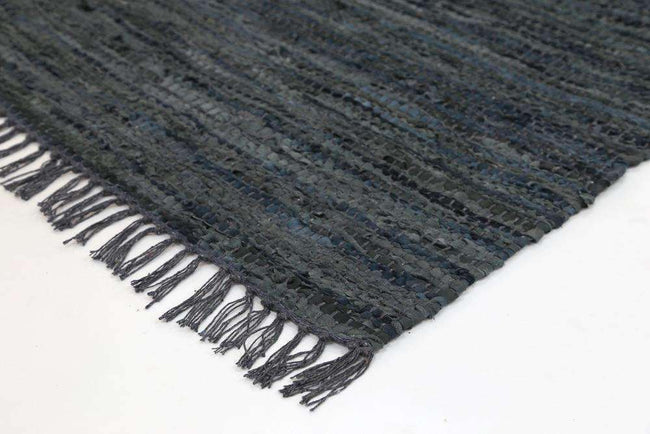 Nordic Modern Grey Leather Rug, [cheapest rugs online], [au rugs], [rugs australia]