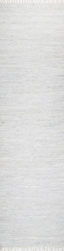 Nordic Modern White Leather Rug, [cheapest rugs online], [au rugs], [rugs australia]