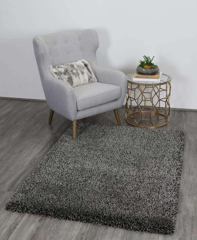 Onix Plush Charcoal/Anthracite Shaggy Rug, [cheapest rugs online], [au rugs], [rugs australia]