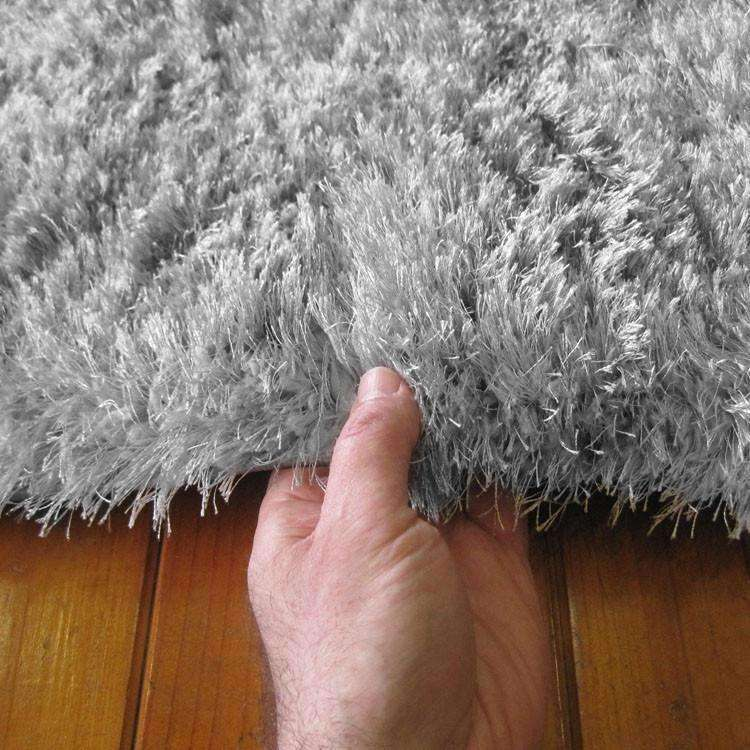 Oslo Silky Soft Shag 1001 Light Grey Runner Rug, [cheapest rugs online], [au rugs], [rugs australia]