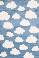 Paddington Blue and White Cloud Kids Rug, [cheapest rugs online], [au rugs], [rugs australia]