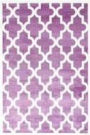 Paddington Violet Pink and White Lattice Pattern Kids Rug, [cheapest rugs online], [au rugs], [rugs australia]