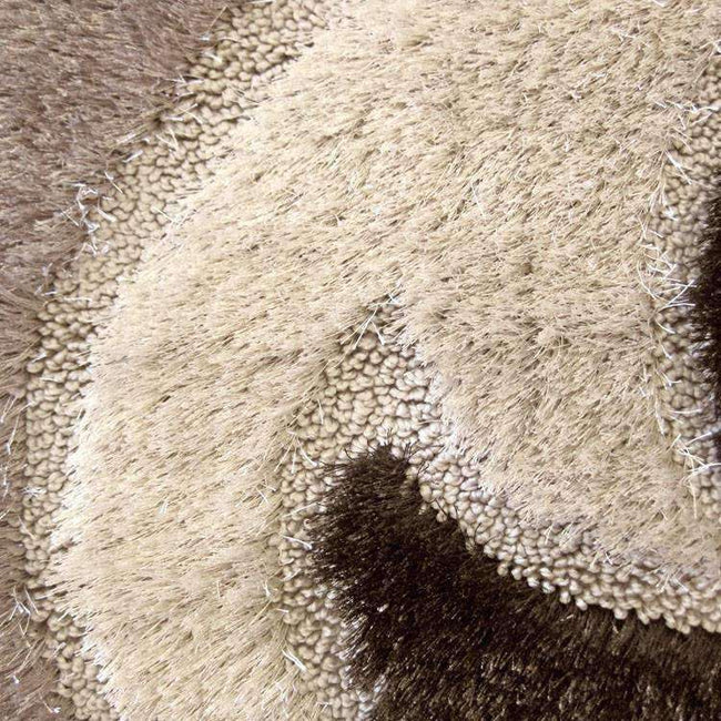 Platinum Luxury Shag 5330 Brown Runner Rug, [cheapest rugs online], [au rugs], [rugs australia]