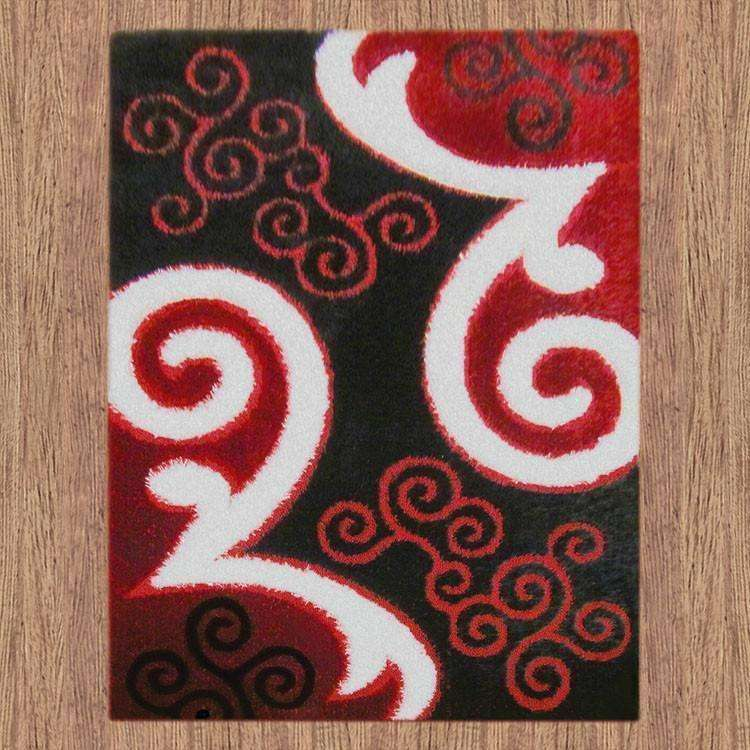 Platinum Luxury Shag 5330 Red Rug, [cheapest rugs online], [au rugs], [rugs australia]