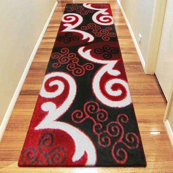 Platinum Luxury Shag 5330 Red Runner Rug, [cheapest rugs online], [au rugs], [rugs australia]
