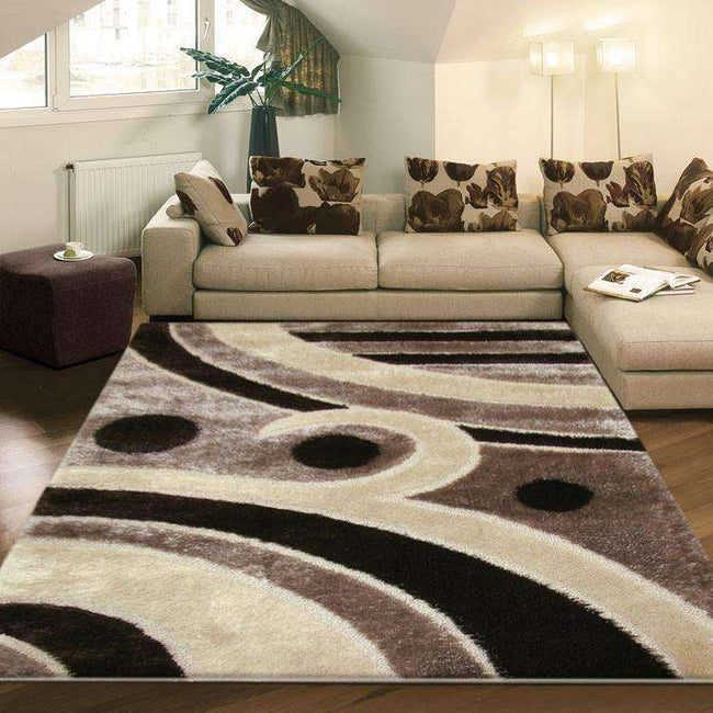 Platinum Luxury Shag 6225 Brown Rug, [cheapest rugs online], [au rugs], [rugs australia]