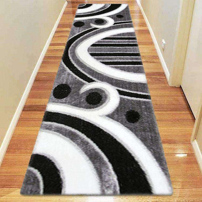 Platinum Luxury Shag 6225 Grey Runner Rug, [cheapest rugs online], [au rugs], [rugs australia]