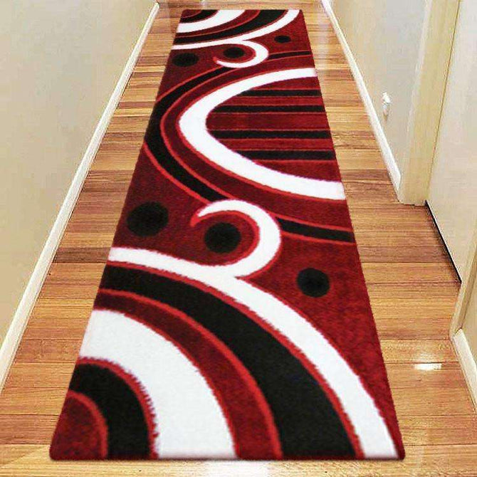 Platinum Luxury Shag 6225 Red Runner Rug, [cheapest rugs online], [au rugs], [rugs australia]