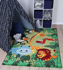 Poppins Kids Happy Jungle Rug, [cheapest rugs online], [au rugs], [rugs australia]