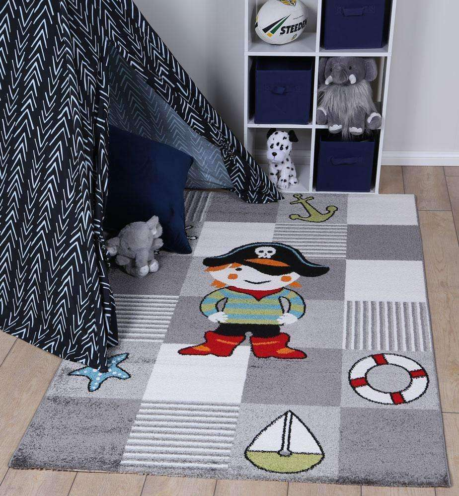 Poppins Kids Pirate Rug, [cheapest rugs online], [au rugs], [rugs australia]