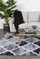Rio Lattice Blue Grey Rug, [cheapest rugs online], [au rugs], [rugs australia]
