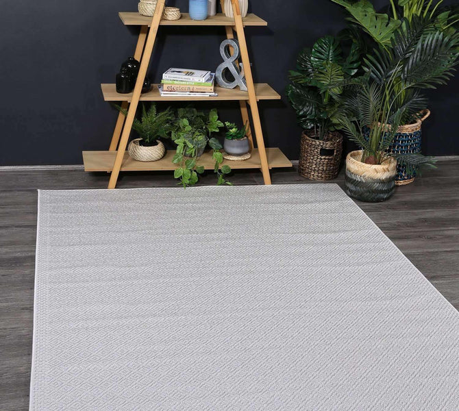 Seascape Courtyard Diamond Silver Rug, [cheapest rugs online], [au rugs], [rugs australia]