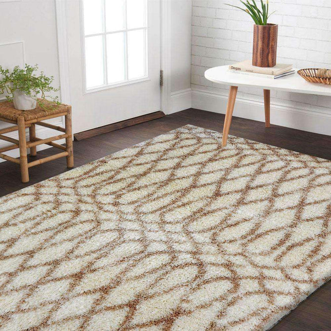 Skye Cream Shag Patterned Ikat Rug, [cheapest rugs online], [au rugs], [rugs australia]