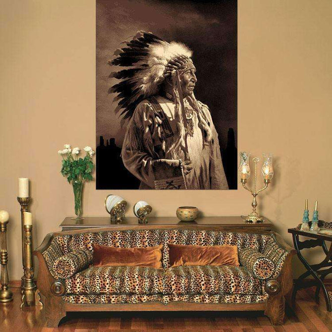 Swift Chief Picture Modern Brown Rug, [cheapest rugs online], [au rugs], [rugs australia]