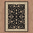 Sydney Oriental Traditional 8001 Black Rug, [cheapest rugs online], [au rugs], [rugs australia]