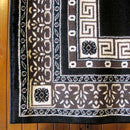 Sydney Oriental Traditional 8002 Black Rug, [cheapest rugs online], [au rugs], [rugs australia]