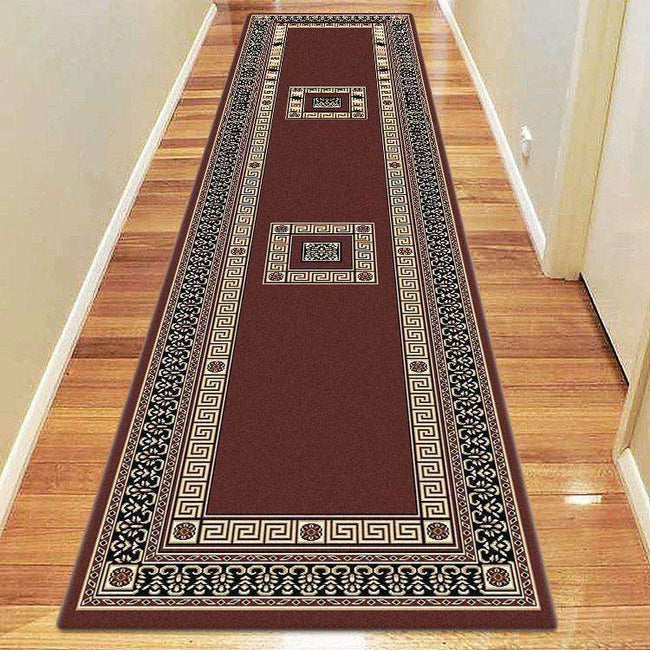 Sydney Oriental Traditional 8002 Brown Rug, [cheapest rugs online], [au rugs], [rugs australia]