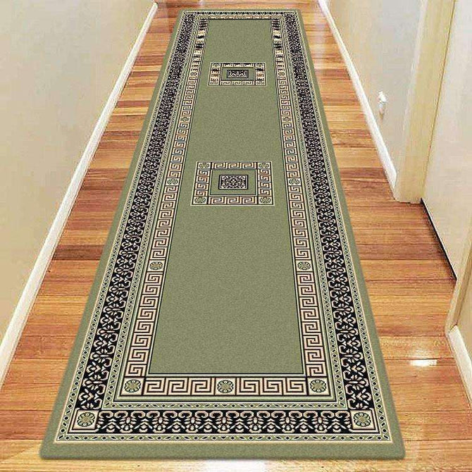 Sydney Oriental Traditional 8002 Green Rug, [cheapest rugs online], [au rugs], [rugs australia]