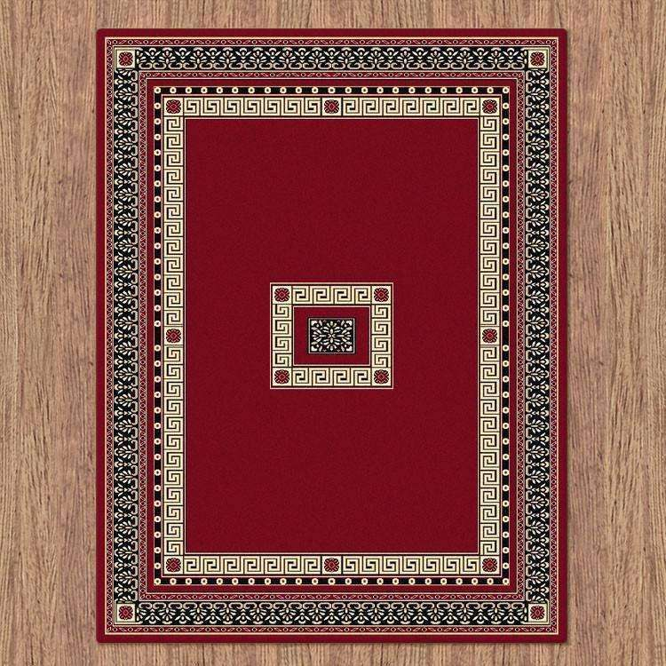 Sydney Oriental Traditional 8002 Red Rug, [cheapest rugs online], [au rugs], [rugs australia]
