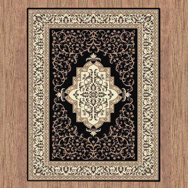 Sydney Oriental Traditional 8003 Black Rug, [cheapest rugs online], [au rugs], [rugs australia]