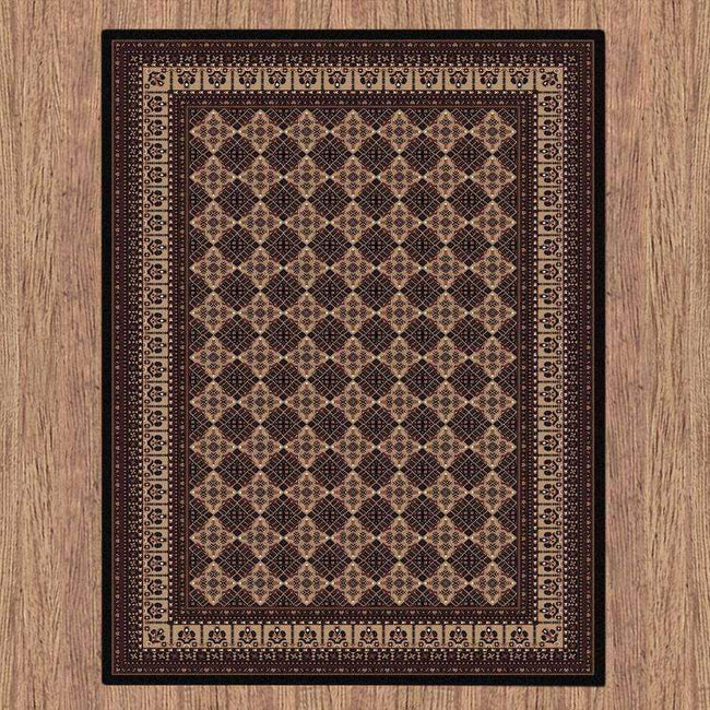 Sydney Oriental Traditional 8004 Black Rug, [cheapest rugs online], [au rugs], [rugs australia]