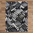 Tribe Modern Collection 1059 Grey Rug, [cheapest rugs online], [au rugs], [rugs australia]