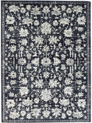 Viera Modern Distressed Ziegler Navy, [cheapest rugs online], [au rugs], [rugs australia]