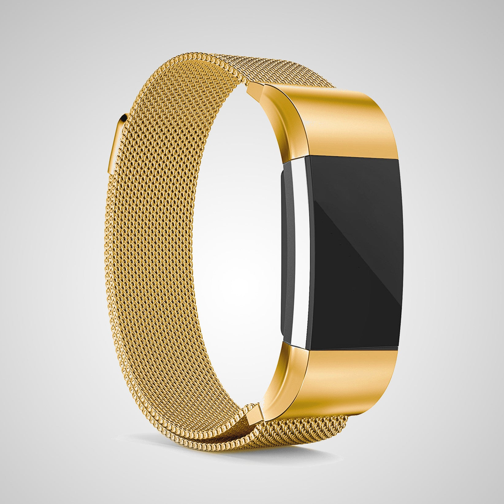 morstep gold edition band for fitbit charge 2 morstep. Black Bedroom Furniture Sets. Home Design Ideas