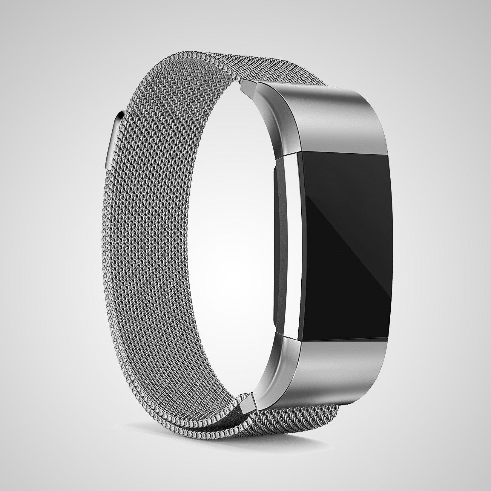 Silver Edition Band for Fitbit Charge 2
