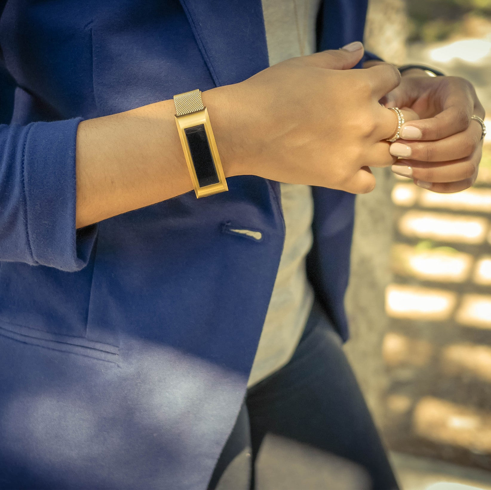 Gold Edition Band for Fitbit Alta