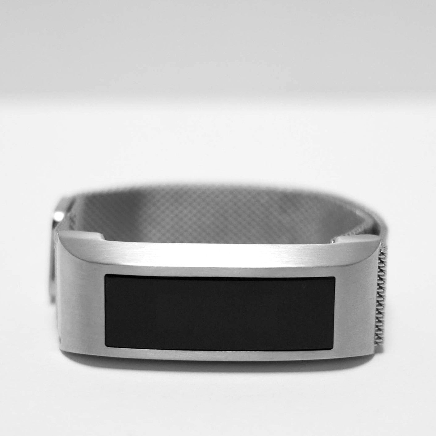 morstep fitbit alta bracelet silver metal jewelry accessories