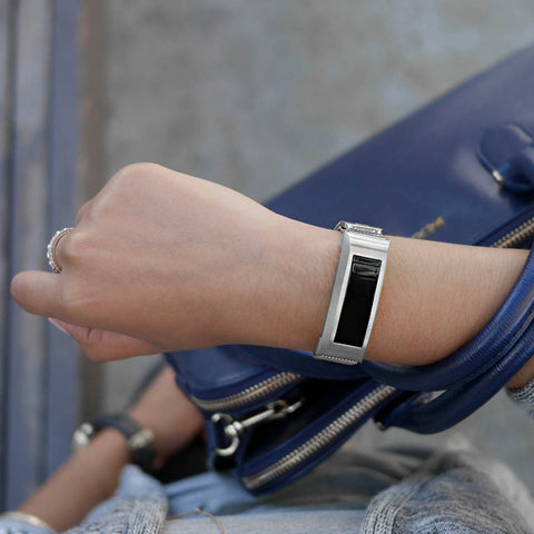 Silver Edition Band for Fitbit Alta