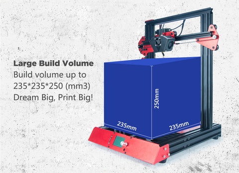 2019 TEVO FLASH 3D PRINTER 98% PREBUILT WITH VOLCANO NOZZLE + OPTIONAL DUAL Z-AXIS, BL TOUCH AND TMC2100 DRIVERS!!! 4