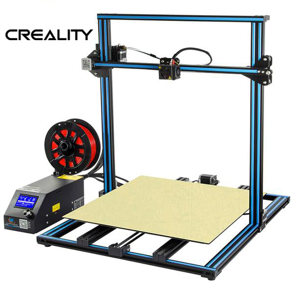 "2019 CREALITY CR-10 ""S5"" 3D PRINTER - ENORMOUS 500x500x500MM BUILD VOLUME!!!"