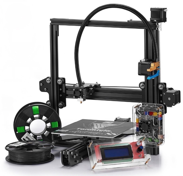 2017 TEVO Tarantula i3 3D Printer DIY KIT (Standard Bed/Base Model) - Click Depot
