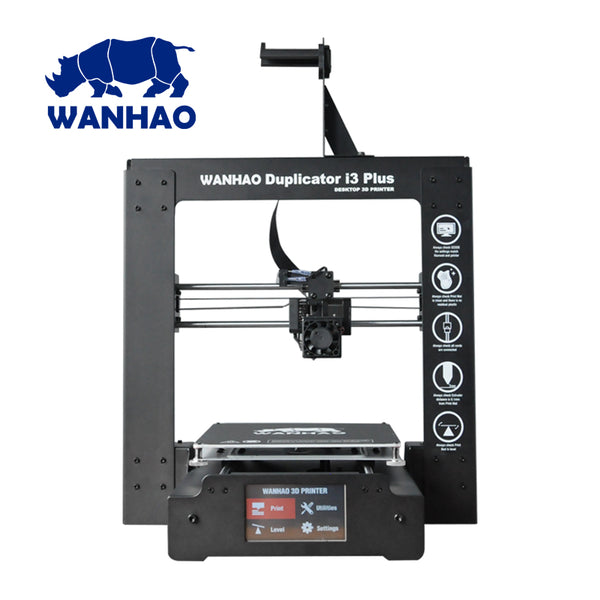 "WANHAO DUPLICATOR i3 ""PLUS"" 3D PRINTER (WITH TOUCHSCREEN) - Click Depot"