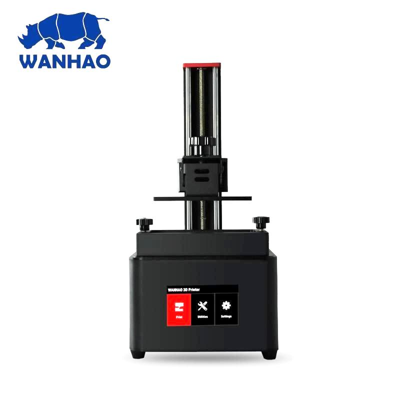 "2018 WANHAO D7 ""PLUS"" UV RESIN 3D PRINTER (WITH TOUCHSCREEN CONTROL) - Click Depot"