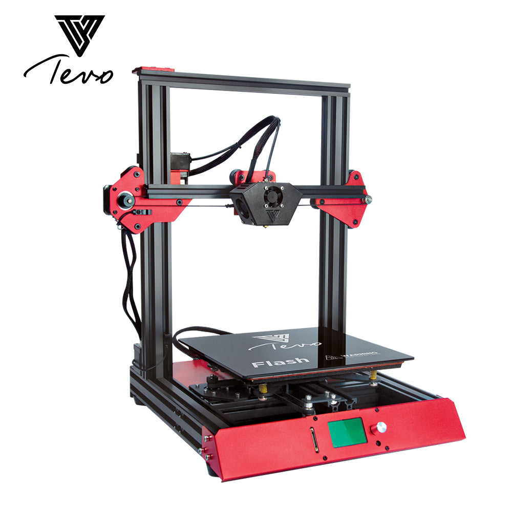 2018 TEVO FLASH 3D PRINTER 98% PREBUILT WITH VOLCANO NOZZLE + OPTIONAL DUAL Z-AXIS, BL TOUCH AND TMC2100 DRIVERS!!!