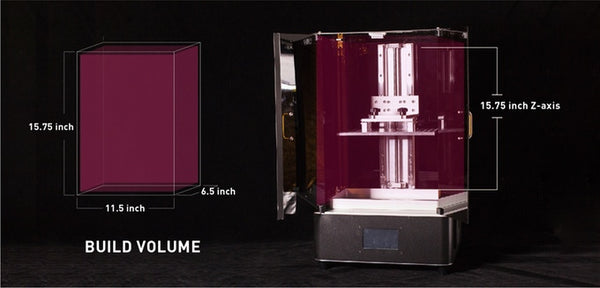 "Phrozen Transform 13.3"" LCD 3D Printer - Enormous 292x165x400mm Build Volume!"