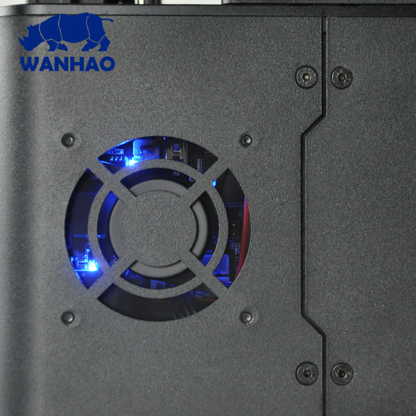 "2018 WANHAO D7 ""V1.5"" UV RESIN 3D PRINTER - Click Depot"