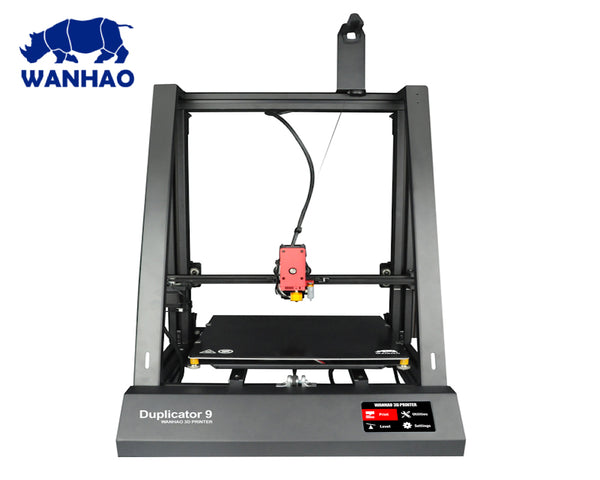 2019 WANHAO DUPLICATOR 9 (500) MKII 3D PRINTER - BL TOUCH SENSOR, FULL METAL HOTEND, TOUCH SCREEN CONTROL, AUTO RESUME