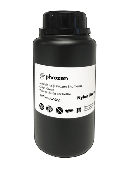 Phrozen Nylon-Like Resin Green 500ml Bottle