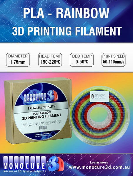RAINBOW FILAMENT - MULTI-COLOUR (1 KG)