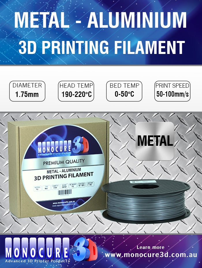 METAL-LIKE FILAMENT - ALUMINIUM (1 KG)